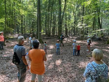 Abenteuer Wald 2020 – Ferienprogramm für Familien im Rüstjer Forst (Helmste)