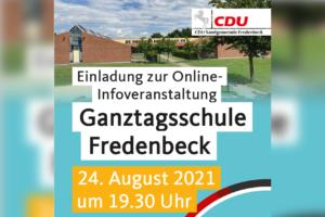 Informationsveranstaltung Ganztagsschulen in der Samtgemeinde Fredenbeck
