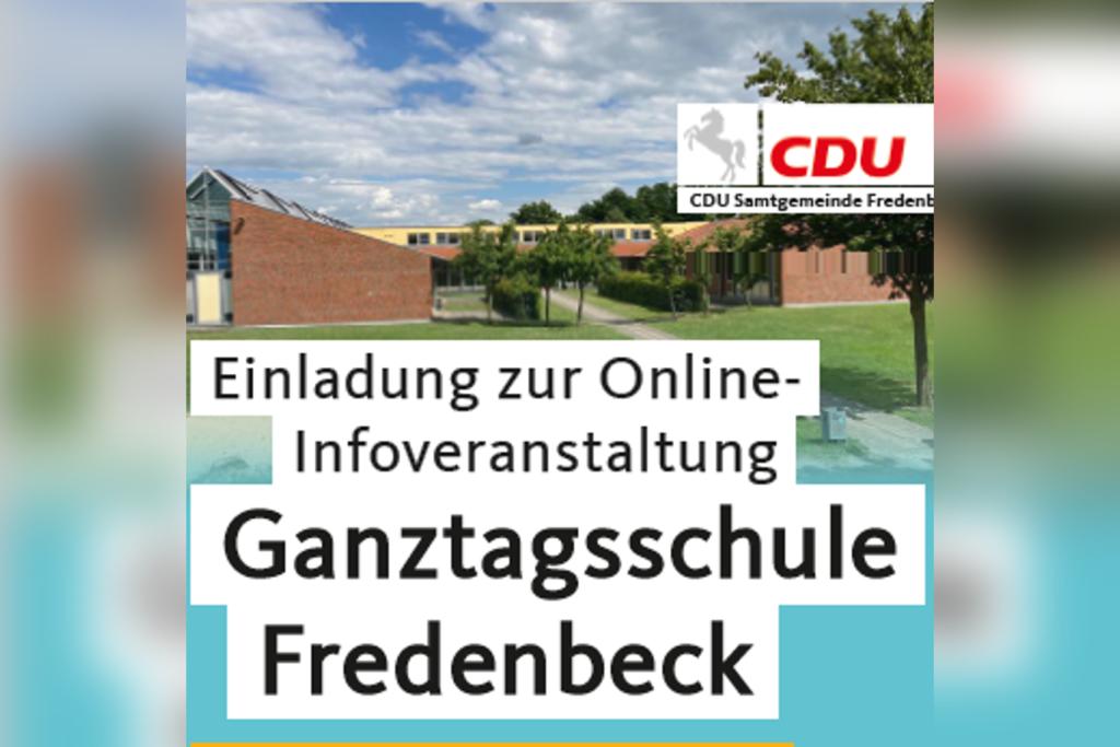 Infoveranstaltung Ganztagsschule Fredenbeck